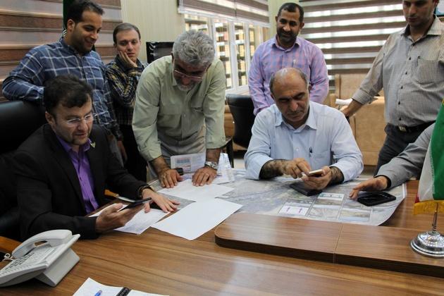 نشست هماهنگی درخصوص پیشرفت فیزیکی پروژه طرح دوخطه اهواز- بندرامام و اهواز-اندیمشک