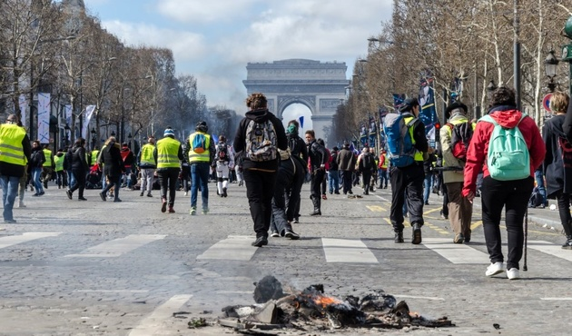 FRENCH TOURISM SECTOR REPORTED A SIGNIFICANT DECLINE