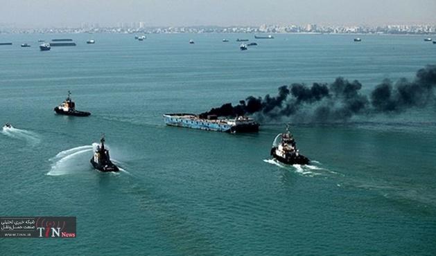 کشتی باری در آبهای پاناما غرق شد