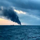 Rescue Underway as Two Ships Catch Fire in Kerch Strait