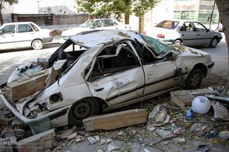 خسارات زلزله در شهرستان جوانرود