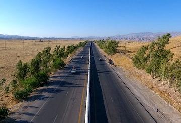 ۱۰۵ کیلومتر بزرگراه در استان ایلام در حال احداث است