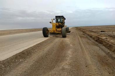 آغاز عملیات اجرایی ساخت راه انحرافی زیرگذر روستای «آبشیرین» کاشان