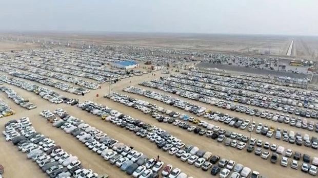 ۷۰ درصد ظرفیت پارکینگ بزرگ اربعین مهران تکمیل شد