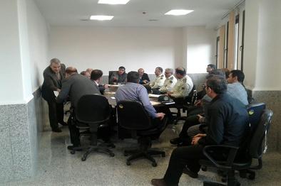 جلسه مشترک مدیر کل راهآهن اراک با مسئولان امنیتی استان کرمانشاه