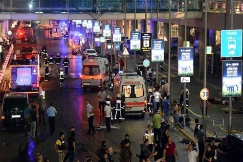 گزارش تصویری / انفجار در فرودگاه اتاتورک استانبول