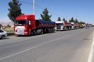 نخستین واکنش به اعتصاب کامیونداران؛ حل مشکل حق بیمه و افزایش کرایه