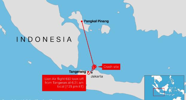 شواهد جدید درباره دلیل سقوط بوئینگ اندونزی