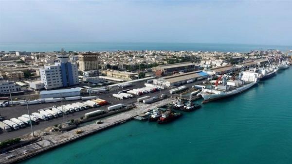 تخلیه و بارگیری کالا در بنادر بوشهر ۲ برابر شد