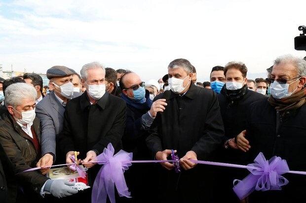 پروژه ۱۳ ساله آزادراه تبریز- سهند به بهرهبرداری رسید