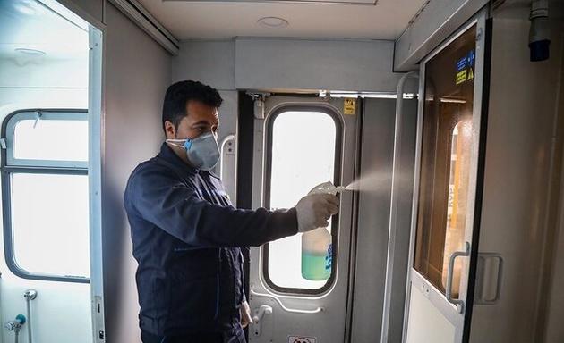 اجرای طرح فاصله گذاری به روش جدید در قطارهای رجا