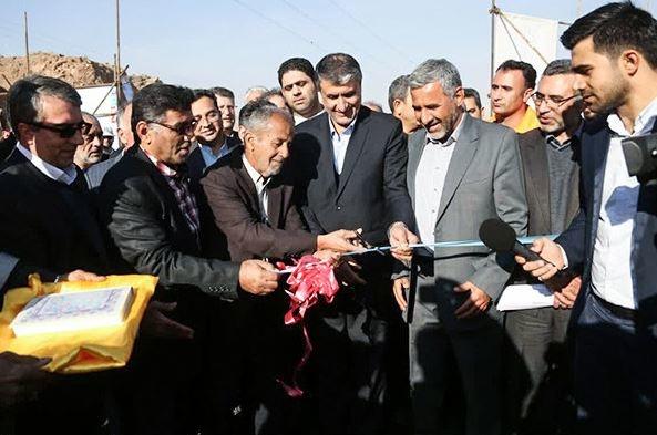 افتتاح قطعه سه باند دوم محور ایوانکی-آبسرد با حضور اسلامی