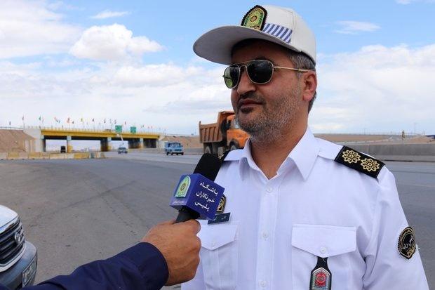 مسیر زائران اربعین در محور تهران- مشهد محدوده سمنان پرحجم است