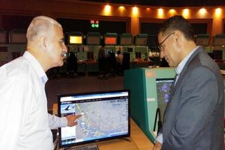 گزارش تصویری/ بازدید مدیرکل ایمنی شرکت فرودگاهها از مرکز کنترل پرواز