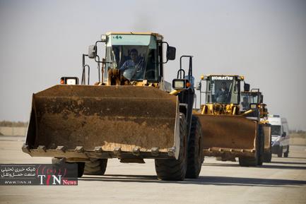 رزمایش طرح عملیات زمستانی فرودگاه امام خمینی
