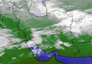 نواحی غربی کشور بارانی است/کاهش نامحسوس دما+جدول