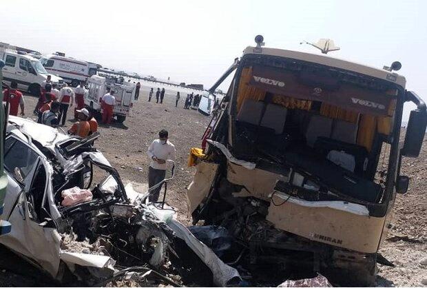 علت تصادف زنجیرهای آزادراه اصفهان – کاشان مشخص شد