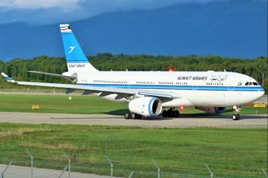 حادثه برای یک ایرباس «کویت» هنگام فرود در جنوب هند