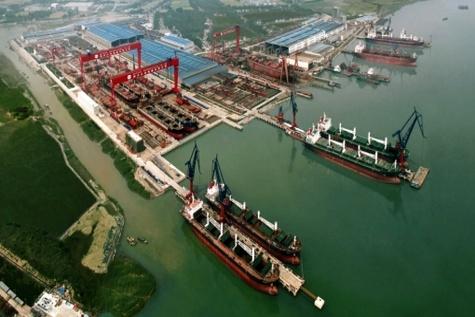 نخستین کشتی تجاری چین وارد بندر گوادر شد