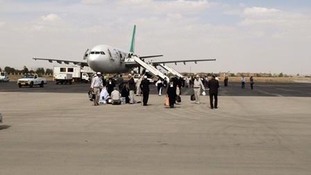 اعزام بیش از 4 هزار زائر از فرودگاه همدان به سرزمین وحی