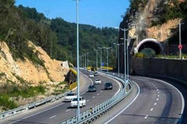 پیشرفت مناسب طرح آزادراه تهران - شمال