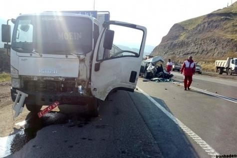 تصادف در زنجان ۳ کشته داشت / معلمانی که به کلاس درس نرسیدند