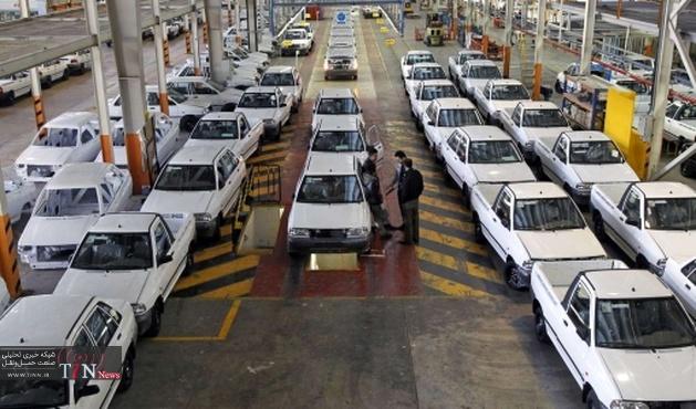 ۷۱۷ هزار دستگاه خودروی سواری در کشور تولید شد