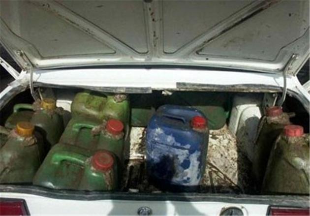 قاچاق روزانه ۵ میلیون لیتر سوخت از مرز سیستان و بلوچستان