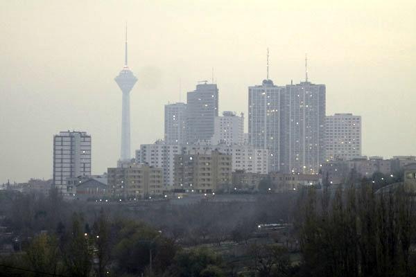 آلودگی هوای تهران و اجزاء آن