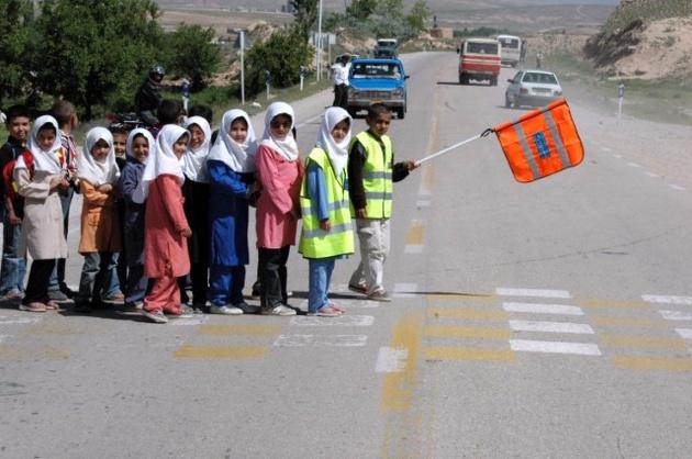ایمن سازی مدارس حاشیه جادههای خراسان شمالی