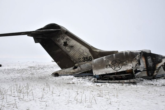 US military aircraft crashes in Taliban-held territory of eastern Afghanistan