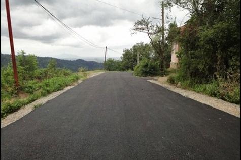 بهرهبرداری از چند پروژه آسفالت راه روستایی در گیلان