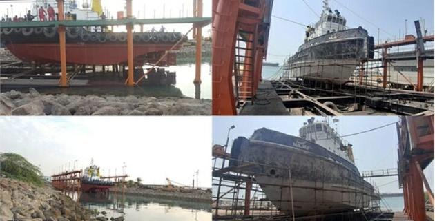 شناور زیرآبی نجف پس از تعمیرات به ناوگان حمل ونقل دریایی پیوست