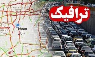 وضعیت ترافیکی جادهها اعلام شد