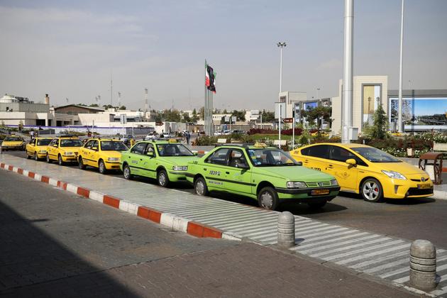 افزایش تاکسیهای فرودگاه مهرآباد در ایام نوروز