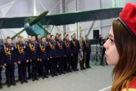 نمایشگاه هواپیماهای جنگی دوران شوروی