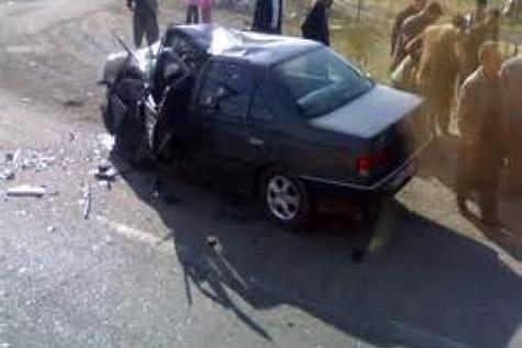 تصادف پنج عضو یک خانواده را به کام مرگ کشید