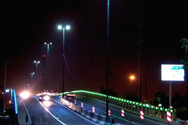 فقط ۳۶۰ کیلومتر از راههای مازندران دارای روشنایی است