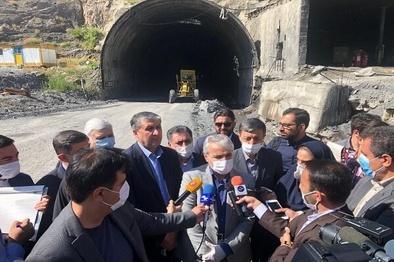 قطعه آزادراه دو تهران-شمال اردیبهشت ۱۴۰۰ افتتاح میشود