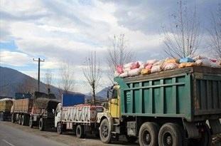جابهجائی بیش از یک میلیون تن کالا در استان اردبیل