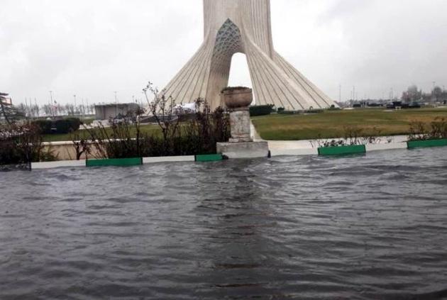 چرا سیلاب به تهران خسارت نزد؟