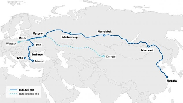 New route through Russia launched for TIR journeys from China to Turkey