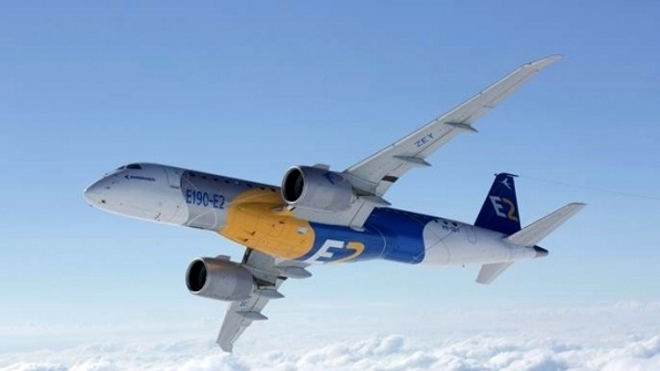 Embraer sees demand for 10,550 new aircraft by 2037