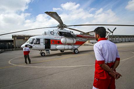 افزایش پایگاههای امداد هوایی اورژانس