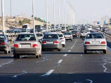 ترافیک خروجی های مشهد نیمه سنگین است
