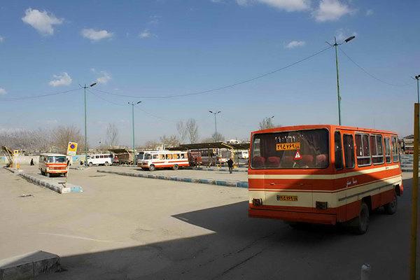 مینیبوسهای کرمانشاه در آستانه ۳۰ سالگی و کم مسافر