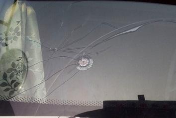 عکس| وضعیت یک کامیون پس از حمل بار ترانزیت