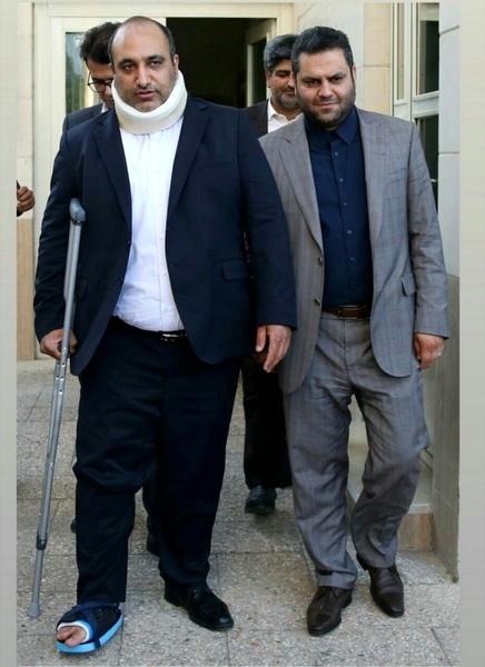 شهردار مشهد دچار حادثه رانندگی شد
