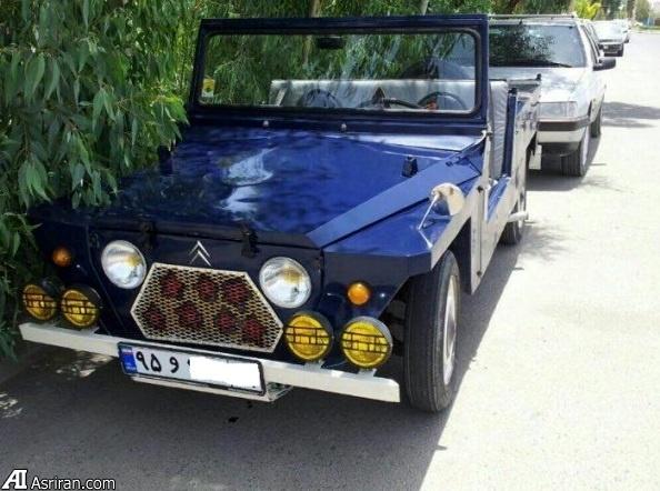 گزارش عصر ایران از چند خودروی کلکسیونی خاص در یزد / اولین ژیان وارداتی ایران (+عکس)