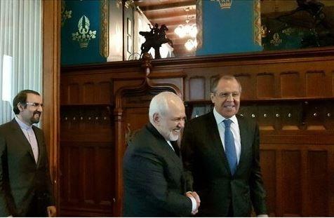 مذاکره دوجانبه ظریف-لاوروف در مسکو آغاز شد